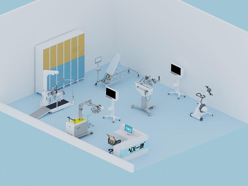 robotic rehab center - rehab robot - robotic rehabilitation - 5