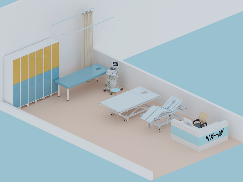 treatment table - chiropractic center - rehab center - 3
